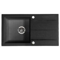 Мойка кухонная Fancy Marble Tennessee 106080004 светло-черная