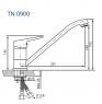 Смеситель для мойки Koller Pool Twin TN0900