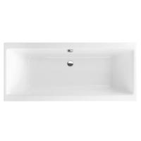Ванна акриловая Excellent Pryzmat Slim WAEX.PRY18WHS-BN 180х80 см